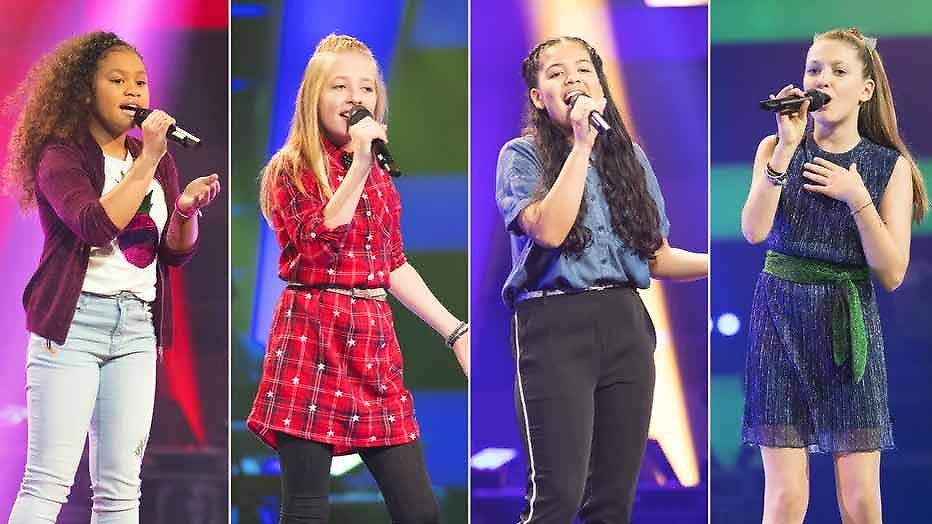The Voice Kids finale eindigt met primeur