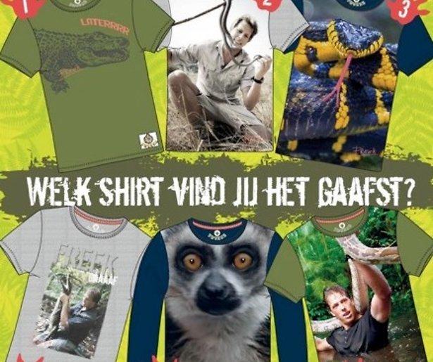 Freek Vonk begint dierenkledinglijn