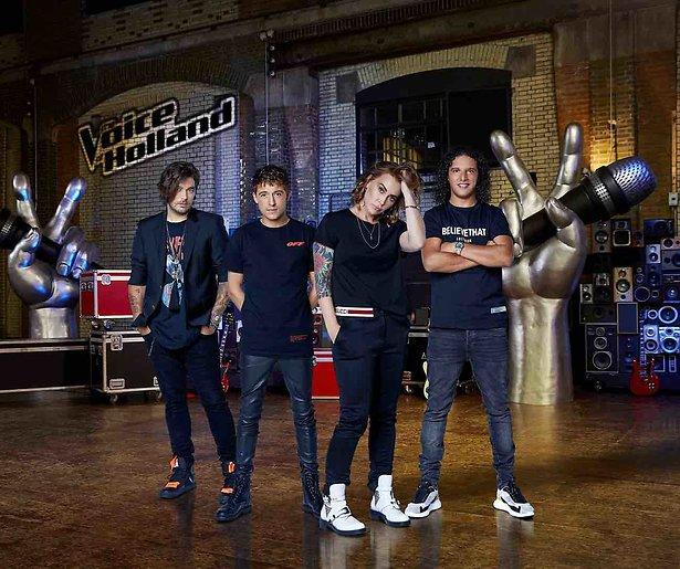 The Voice of Holland blijft bij RTL en Chantal vervangt Wendy