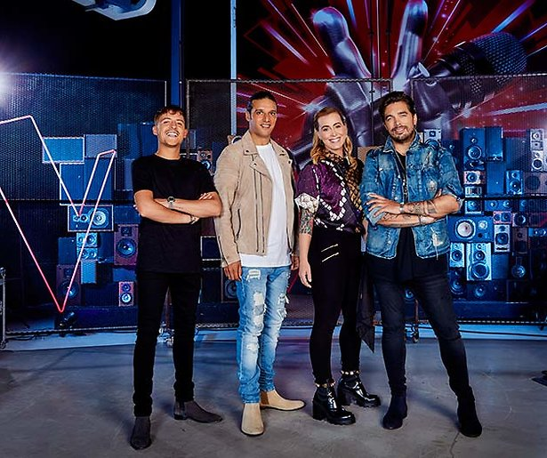 Pop-up store van The Voice in Hoog Catharijne