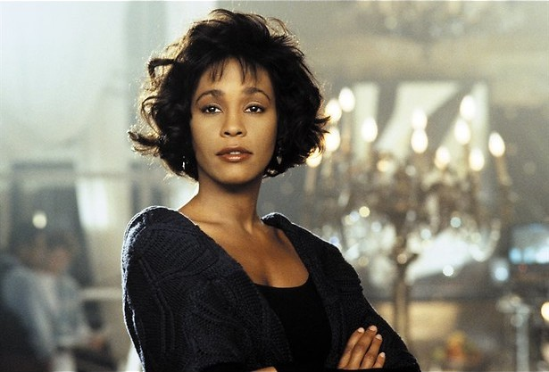 Kevin Costner beschermt Whitney Houston