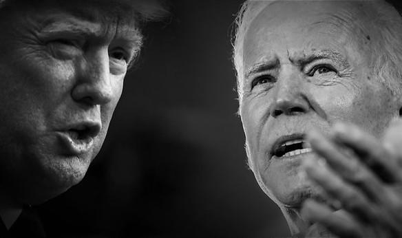 Trump en Biden onder de loep