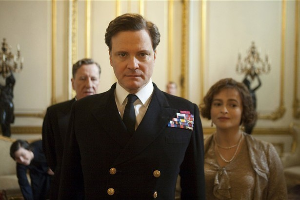 Colin Firth stottert