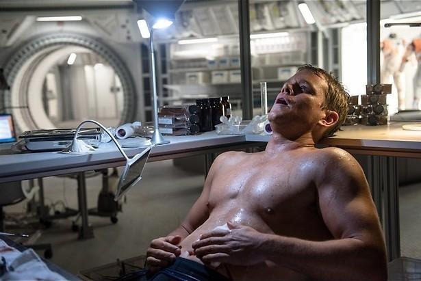 Matt Damon teelt aardappelen op Mars