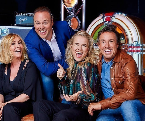 Frans Bauer jureert in The voice senior