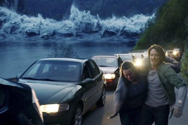 Het Noorse dorpje en de vloedgolf