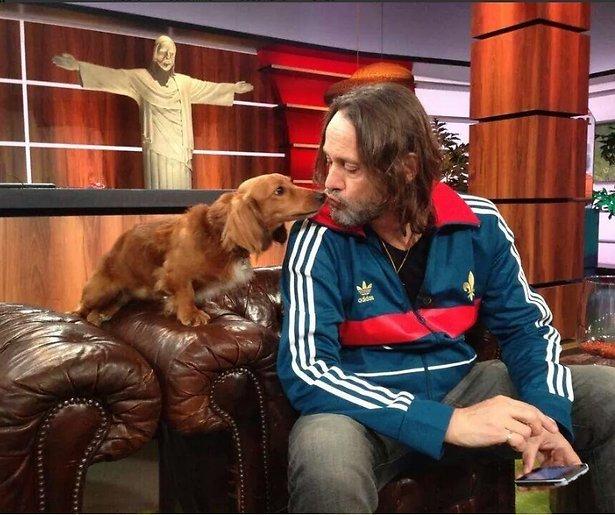 Teckel Messi favoriete gast bij Studio France