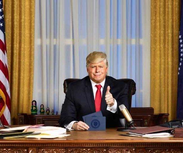 Nieuwe serie over Trump op Comedy Central