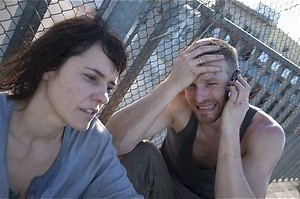 Barry Atsma en Susan Visser filmen een moord
