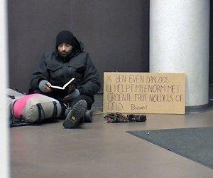 Acteur Dragan Bakema leefde 3 weken op straat
