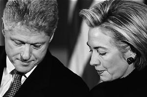 Bill Clinton, de roekeloze in The Clinton affair