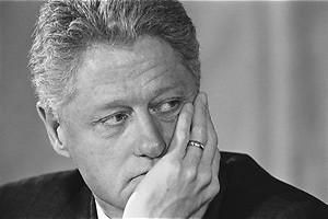 Intieme ontmoeting met de president The Clinton affair