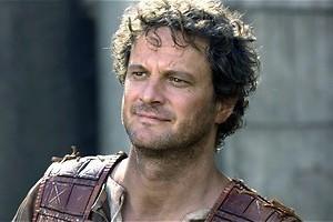 Colin Firth draagt een rokje in The Last Legion