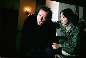 The Shining: Jack Nicholson draait door
