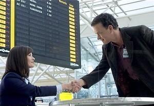 Tom Hanks woont op het vliegveld