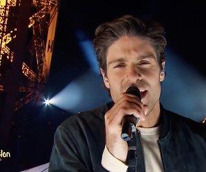 Knappe Franse zanger onthult Songfestival-liedje