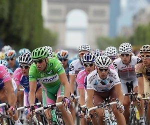 Rit 21: Feestetappe naar Parijs in Tour de France