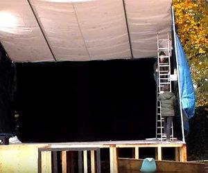 Videosnack: Brandon raakt gewond na ladder-ongeluk in Utopia