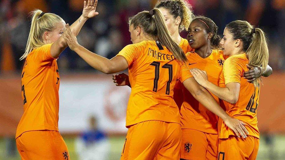 Algarve Cup met voetbalvrouwen live op Veronica
