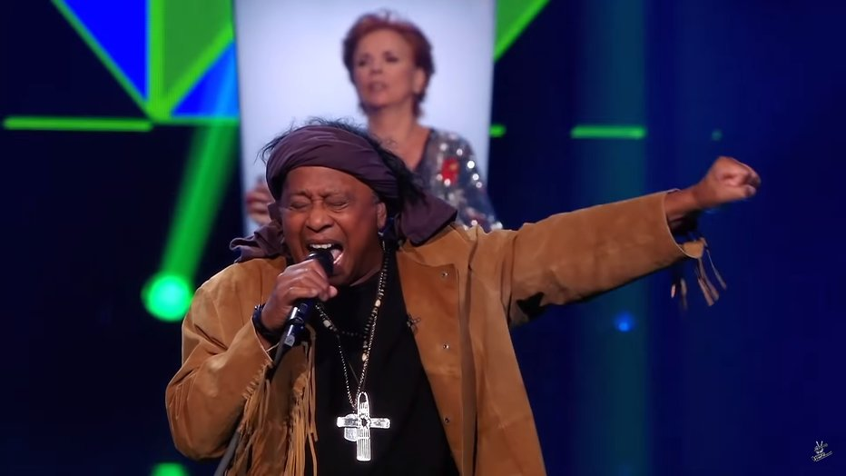 Videosnack: Jimi Bellmartin zingt Soul Man bij The Voice