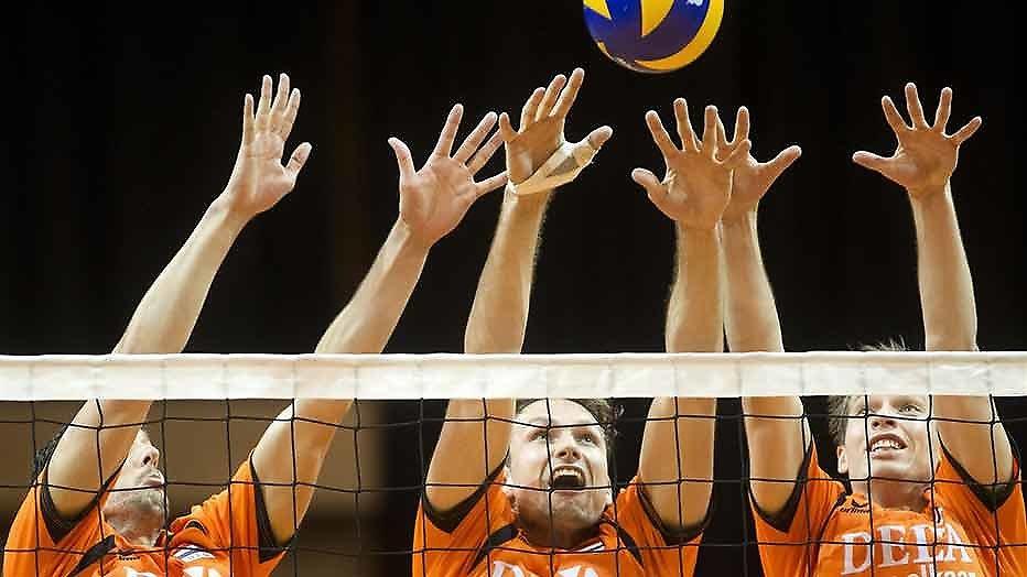 Oranje begint EK Volleybal in Ahoy