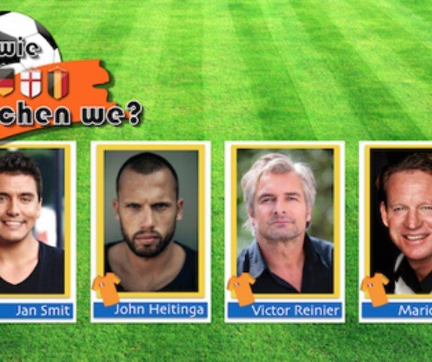 John, Jan, Mario en Victor presenteren Voor Wie Juichen We?