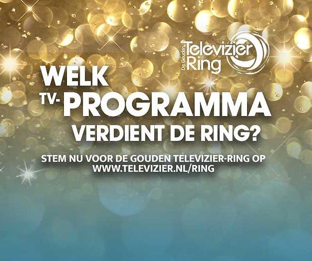Stem op de Gouden Televizier-Ring. Niet vergeten hoor!