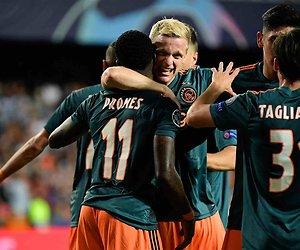 De TV van gisteren: Ajax verslaat Valencia én Máxima