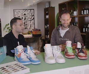 Valerio Zeno maakt voor Videoland sneakerserie Out of the box