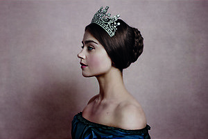Enthousiaste koningin in Victoria