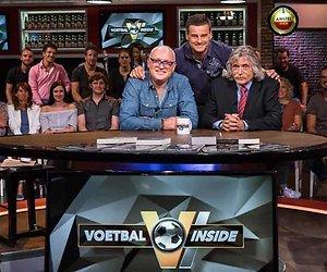 Johan Derksen zingt voor Wilfred Genee als hij Televizier-Ster wint