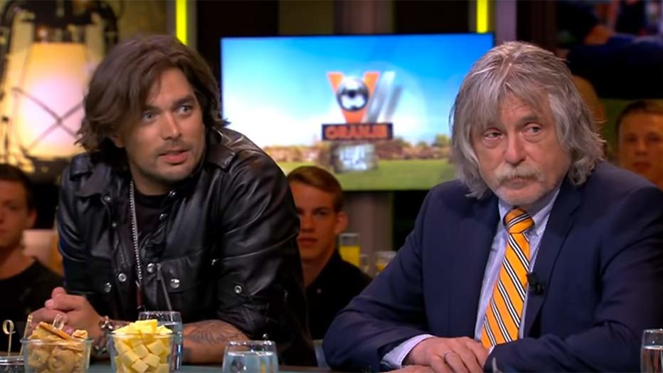 Waylon en Johan Derksen ineens dikke maatjes