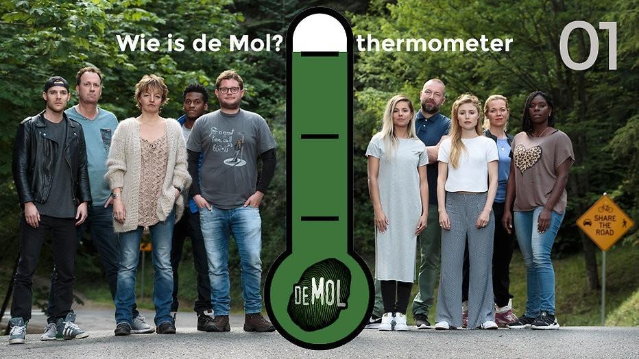 Wie is de Mol? 2017 - #01: Verraadt Sanne nu al dat ze voorkennis heeft?