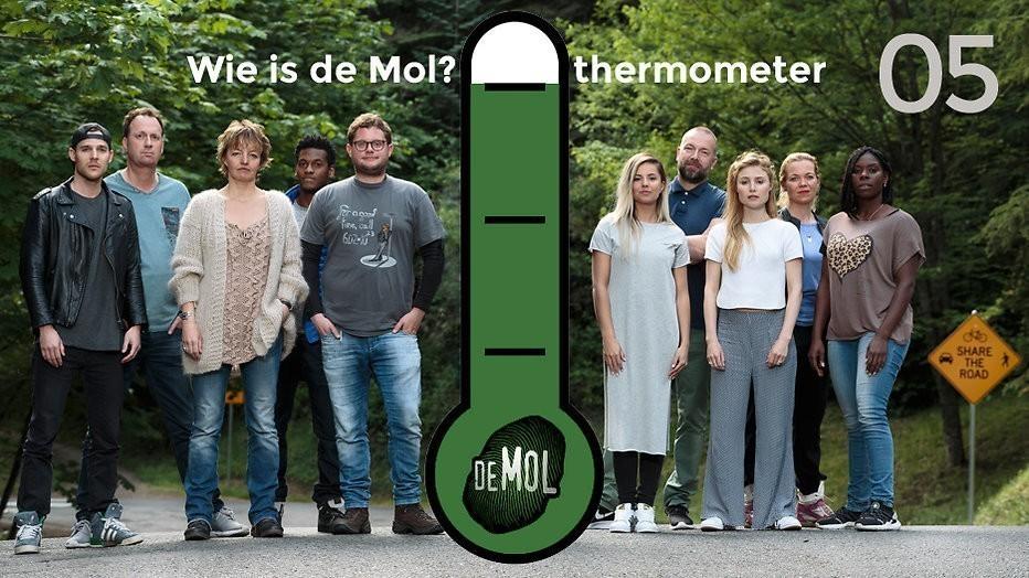 Wie is de Mol? 2017 - #05: Stond Thomas als Mol afgebeeld op een poster?