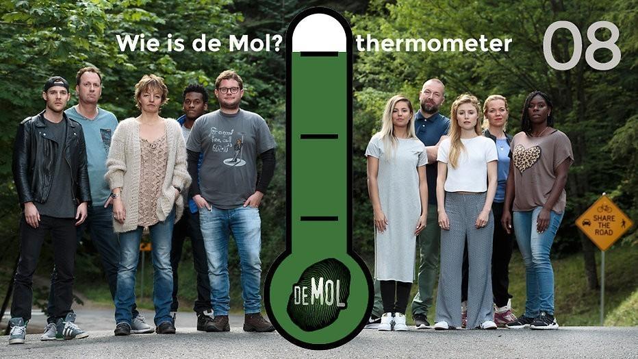 Wie is de Mol? 2017 - #08: We zagen heus wel dat Thomas die foto wegmoffelde