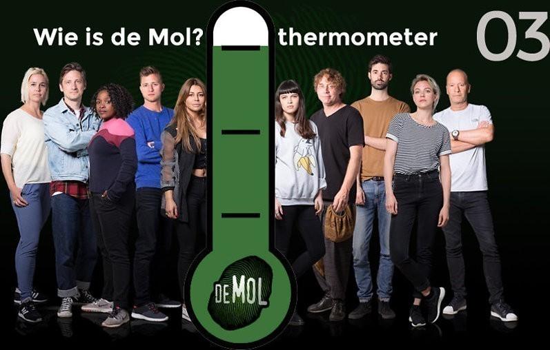 Wie is de Mol? 2018 - #03: Simone geeft paraglidend steeds foute antwoorden door