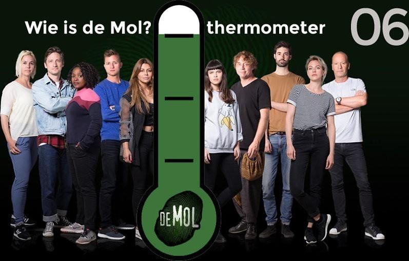 Wie is de Mol? 2018 - #06: 'Ik ben de Mol' lacht Simone