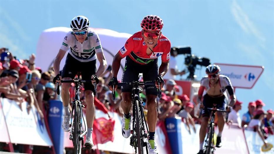 Heldendaden nodig op slotklim in Vuelta