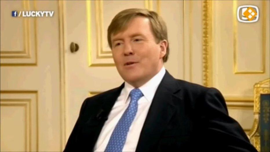 LuckyTV maker heeft bewondering voor Willem-Alexander