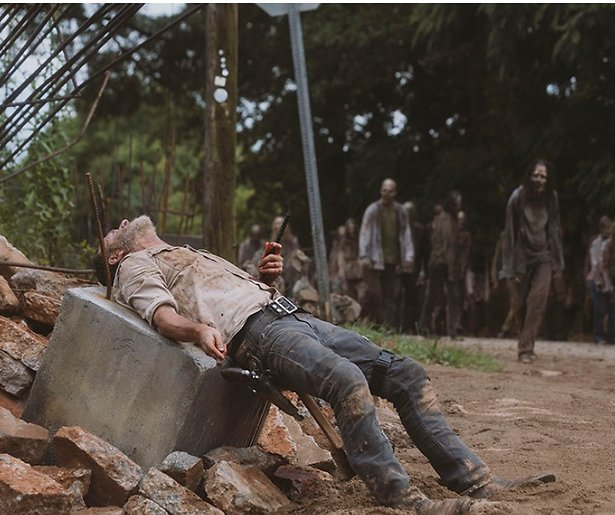 Andrew Lincoln nog lang niet klaar met The Walking Dead