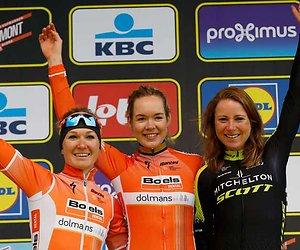 WK Wielrennen: Oranjevrouwen tegen de klok