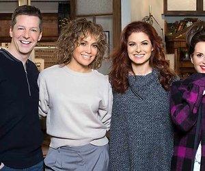 Jennifer Lopez terug met gastrol in Will & Grace