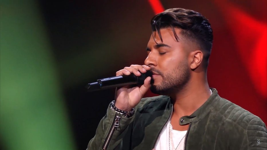 Videosnack: Xerxes Naseri zingt Margherita bij The Voice