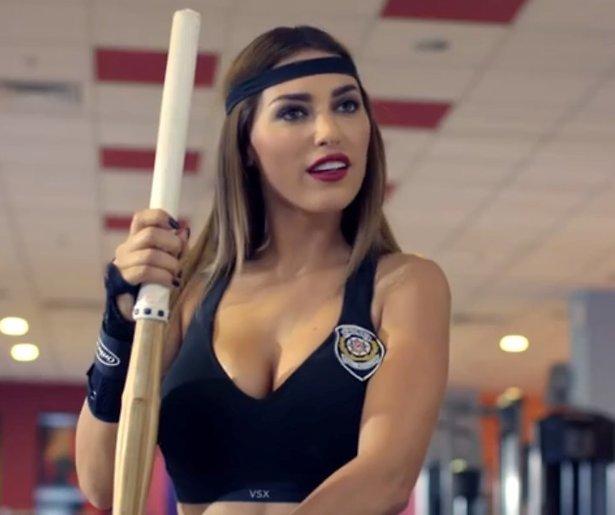 YouTube-hit: Yolanthe toont vechtskills in Turkse film