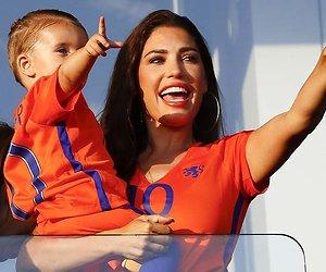 Yolanthe Sneijder-Cabau hangt voortaan in de HEMA