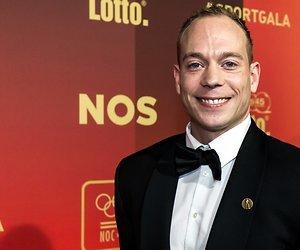 Yuri van Gelder donderdag in RTL Late Night