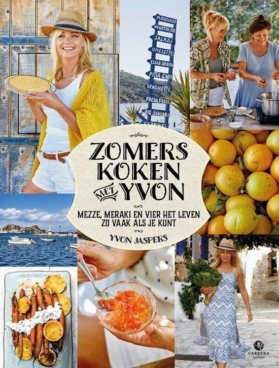 Win 6 kookboeken: Zomers koken met Yvon