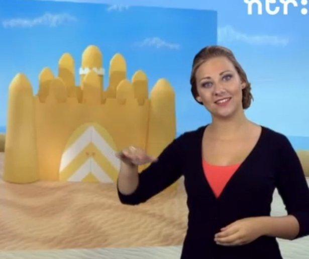 NTR voegt gebarentolk toe aan kinderprogramma's