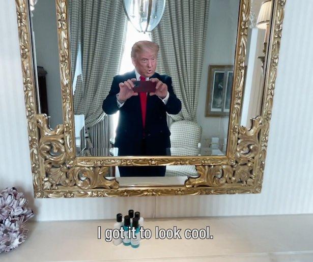 Videosnack: Trump geeft Witte Huis-tour aan Biden
