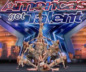 Videosnack: acrobatische dansgroep direct door naar finale America's Got Talent
